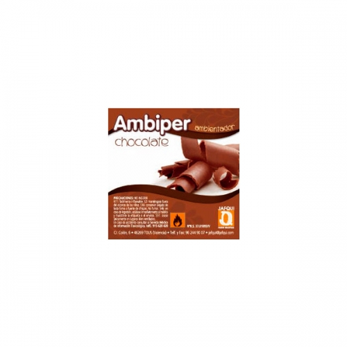 jafqui recarga ambientador ambiper chocolate